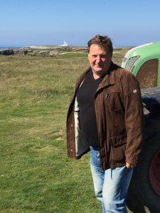 Patrick Le Clech, greenkeeper du golf de Belle-Île