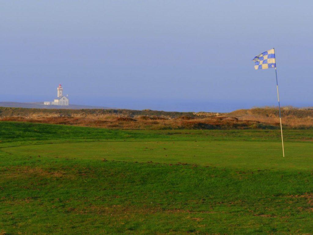 Trou N° 4 du golf de Belle-Île-en-mer