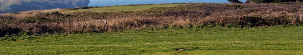 Le trou n° 8 du golf de Belle Ile