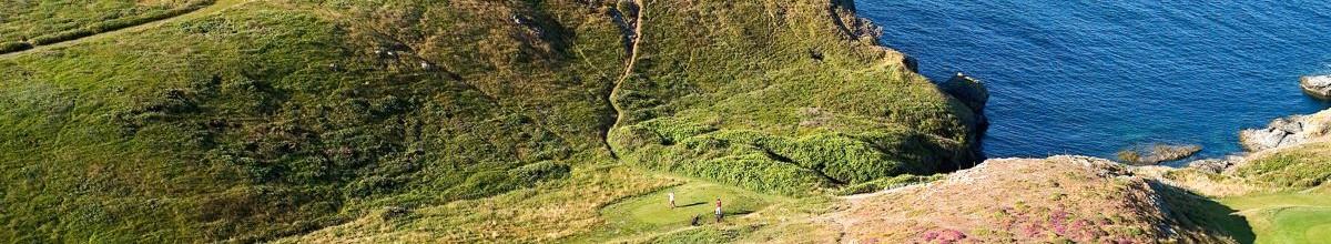 Trou Numéro 4 du golf de Belle-Île-en-mer