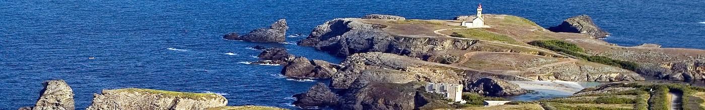 Golf de Belle ile en mer : trou numéro 13